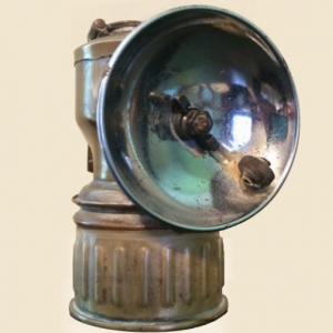 Kenvir KY Miner's Carbide Light, Kenvir Kentucky, Harlan County