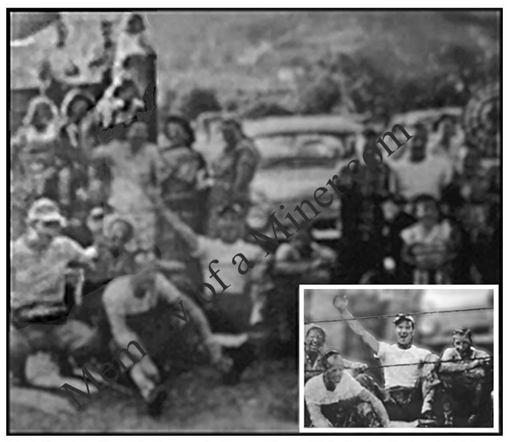 Kenvir Miners, 31 camp house, Kenvir, Black Mountain, 31 camp